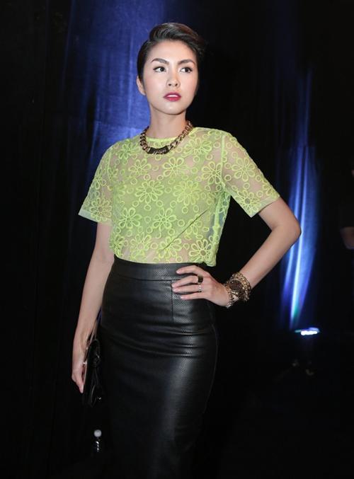 Có gu ăn mặc nên ngọc nữ được xem như một biểu tượng thời trang, hiếm khi mắc lỗi trang phục.