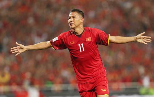 Nguyễn Anh Đức trở lại đội tuyển.