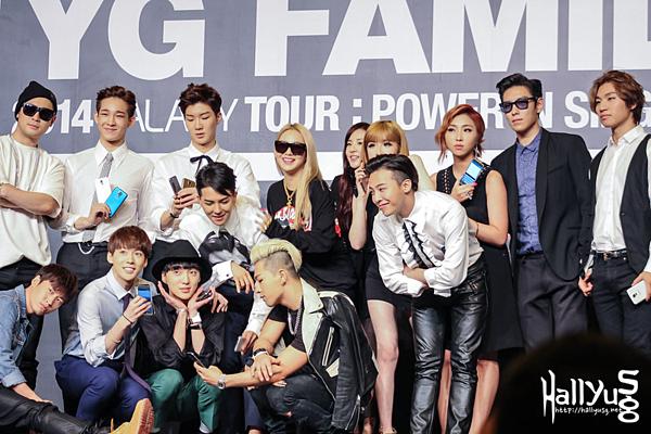 YG từng có những gà chiến như Big Bang, 2NE1, PSY, Epik High...