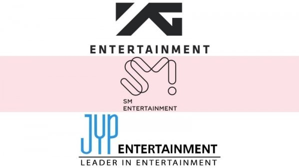 3 công ty giải trí hàng đầu Kpop: YG - SM - JYP.