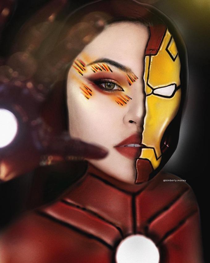 """<p> Nữ sinh gốc Cần Thơ khiến nhiều người mê mẩn khi hóa thân thành những siêu anh hùng Marvel. Kim là """"fan cứng"""" của dòng phim này nên quyết định cosplay những nhân vật yêu thích.</p>"""