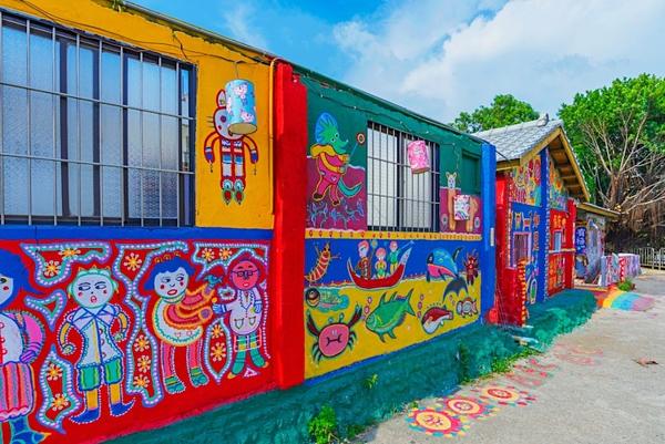 Hình ảnh đầy sắc màu tại ngôi làng Cầu Vồng - 7