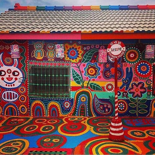 Hình ảnh đầy sắc màu tại ngôi làng Cầu Vồng - 8