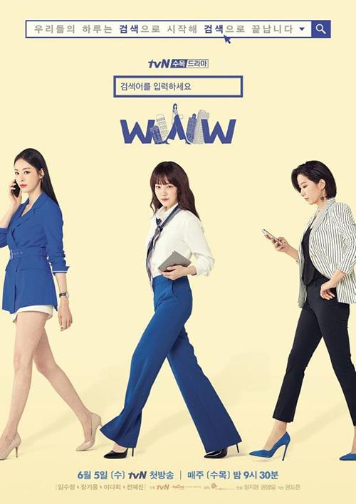 Search WWW được coi là một phiên bản nữ của bộ phim Phẩm chất quý ông. Nôi dung kể về sự nghiệp, tình yêu của 3 người phụ nữ tài giỏi, độc lập. Tuy thành đạt nhưng cả 3 đều đối mặt với những áp lực, khó khăn trong tình yêu. Lee Da Hee và Im Soo Jung sẽ vướng vào chuyện tình tay ba với trai trẻ Jang Ki Yong.