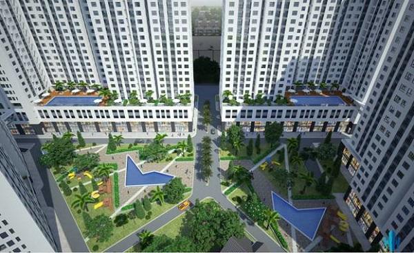 Phối cảnh dự án Aio City.