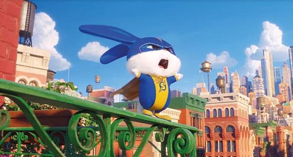 Chú thỏ trắng Snowball thích làm trùm thế giới.