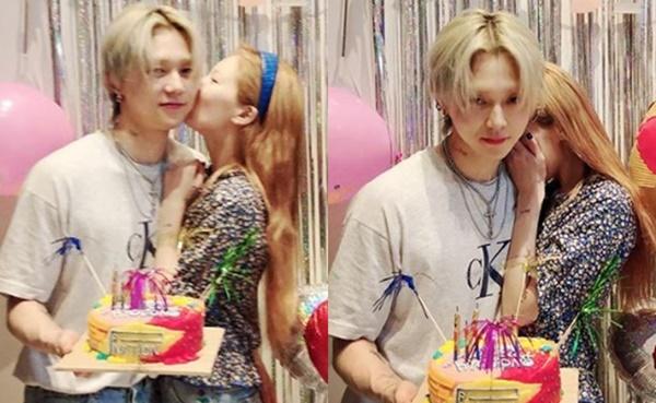 Sau sự cố vồ ếch, Hyun Ah tươi tỉnh trong tiệc sinh nhật bạn trai - 1