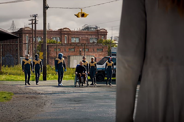 Dàn diễn viên quen thuộc qua các phần X-Men.