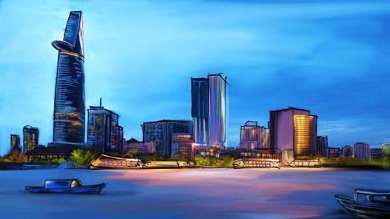 Nhìn cảnh đẹp đoán thành phố của Việt Nam - 2
