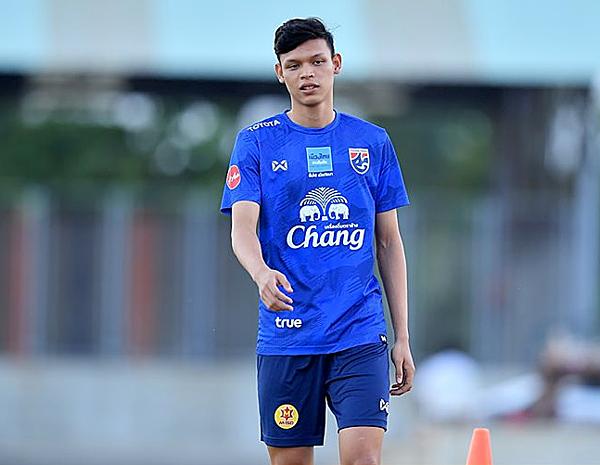 Cầu thủ Supachai của Thái Lan.