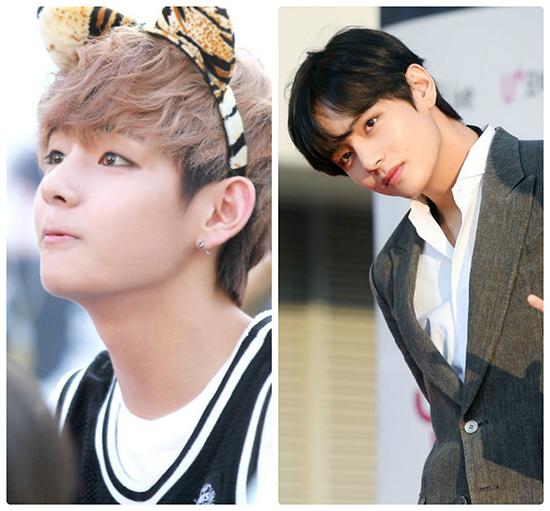 Netizen khen ngợi màn dậy thì thành công của Jung Kook, V (BTS) - 5