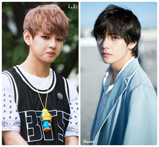 Netizen khen ngợi màn dậy thì thành công của Jung Kook, V (BTS) - 6