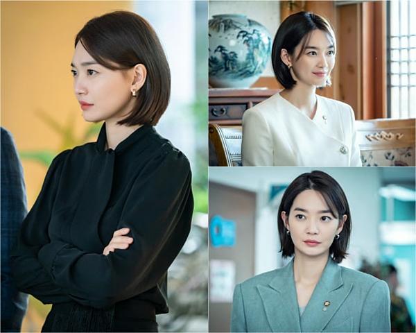 Lộ tạo hình nữ chính trị gia của Shin Min Ah trong drama mới