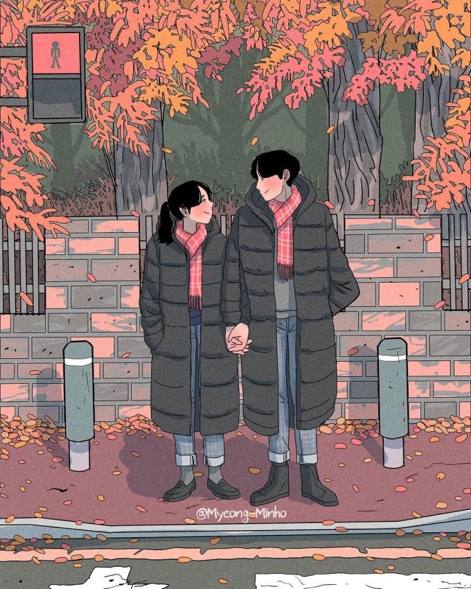 """<p> Chuyện tình yêu của bạn chẳng cần phải lãng mạn hay quá """"sến súa"""", chỉ cần một ánh mắt trìu mến, một cái nắm tay thật chặt là đủ.</p>"""