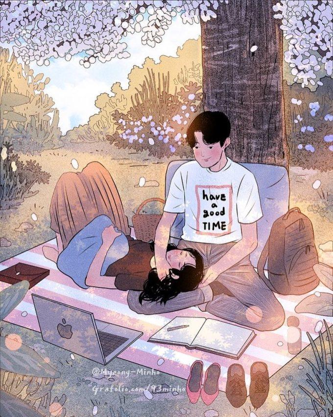 <p> Khi yêu, người ta đâu cần những thứ quá viển vông, to lớn bởi điều quan trọng nhất là cả hai được ở bên nhau.</p>