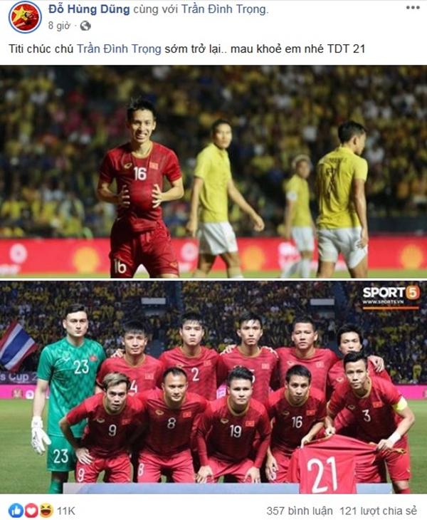 Sau 11 năm mới thắng Thái Lan, tuyển thủ Việt Nam ăn mừng nhận bão like  - 3