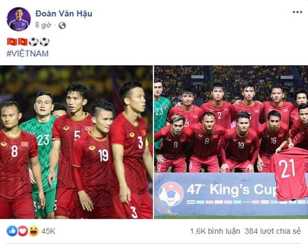 Sau 11 năm mới thắng Thái Lan, tuyển thủ Việt Nam ăn mừng nhận bão like  - 4