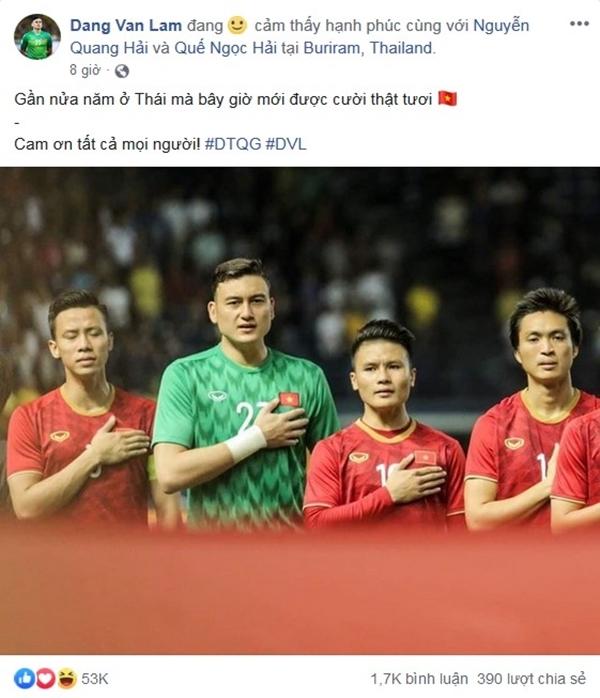 Sau 11 năm mới thắng Thái Lan, tuyển thủ Việt Nam ăn mừng nhận bão like  - 5