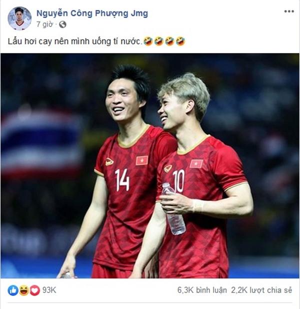 Sau 11 năm mới thắng Thái Lan, tuyển thủ Việt Nam ăn mừng nhận bão like  - 7