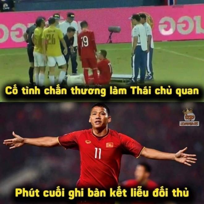 """""""Chiêu"""" độc của Anh Đức trên sân. Luôn luôn tỏa sáng đúng lúc... chính là những gì mọi người đang nhắc về """"lão tướng"""" của tuyển Việt Nam."""