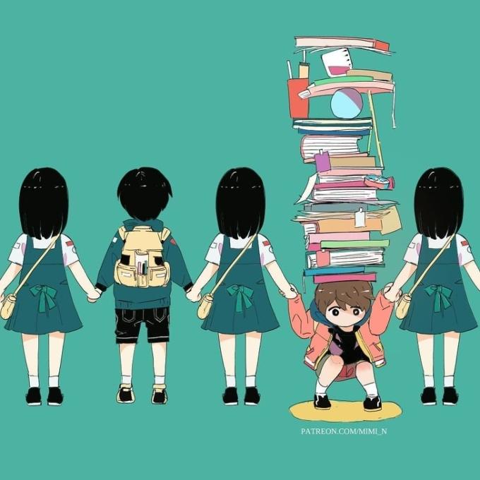 <p> Bạn có từng phải chịu những áp lực của việc học hành, thi cử đè nặng lên vai?</p>
