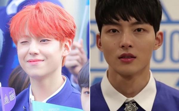 Lee Eun Sang, thực tập sinh của Brand New Music đốn tim fan bởi vẻ đẹp ấm áp gần gũi. Anh chàng giống với Park Sung Woo, thí sinh từng tham gia Produce 101 mùa 2.