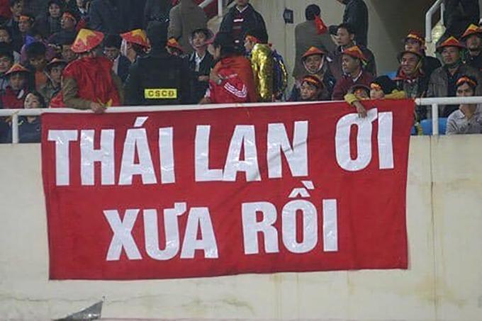 <p> Việt Nam đã đè bẹp giấc mơ đứng đầu của Thái Lan ngay tại sân nhà của họ.</p>
