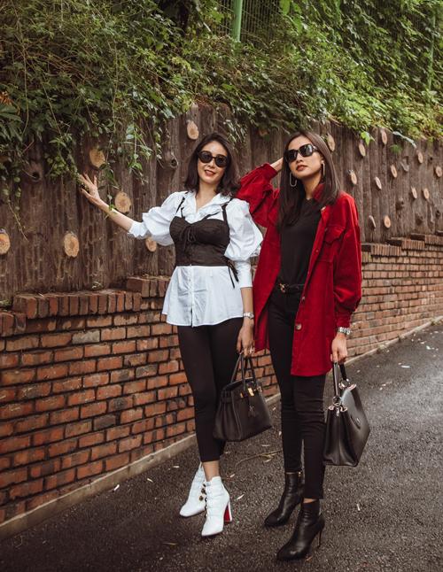 Nhận xét về Hà Kiều Anh và Dương Mỹ Linh, những người bạn thân cho rằng hai người đẹp có tính cách thân thiện, dễ gần nên được nhiều người yêu mến.