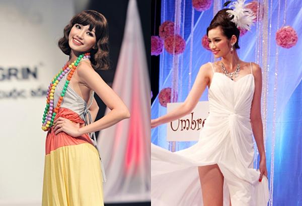 Không sở hữu gương mặt góc cạnh như nhiều chân dài song, Trúc Diễm vẫn là cái tên hàng đầu cho sự lựa chọn của các NTK trong nước thời điểm 2011 - 2013. Cô làm vedette cho nhiều show diễn.