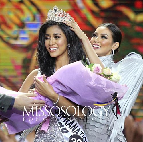 Đại diện Philippines tại Miss Supranational - Hoa hậu Siêu quốc gia 2019 là người đẹp Reasham Saeed, đại diện thành phố Maguindanao.