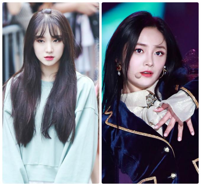 <p> Roa (trái) rất xinh đẹp nhưng không được chú ý bằng Kyul Kyung. Nhóm Pristin đã tan rã trong sự tiếc nuối của công chúng.</p>