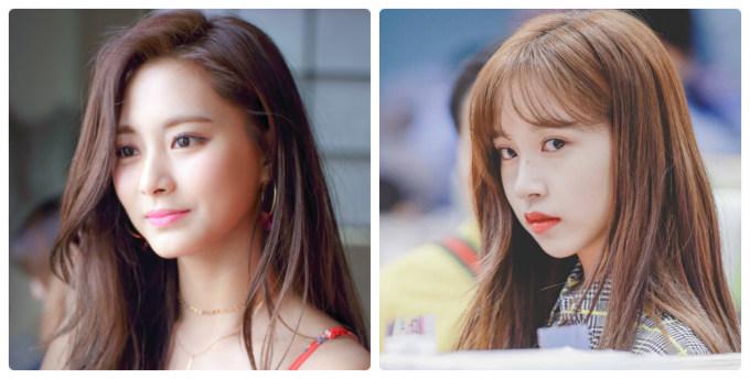 <p> Tzuyu (trái) xứng đáng với vị trí visual của Twice. Nhan sắc của em út được chú ý từ chương trình sống còn <em>Sixteen</em>. Gần đây, Mina đang nổi lên nhờ khí chất tiểu thư sang trọng, dịu dàng. Nữ idol có nhiều khoảnh khắc ''gây bão'' mạng xã hội.</p>