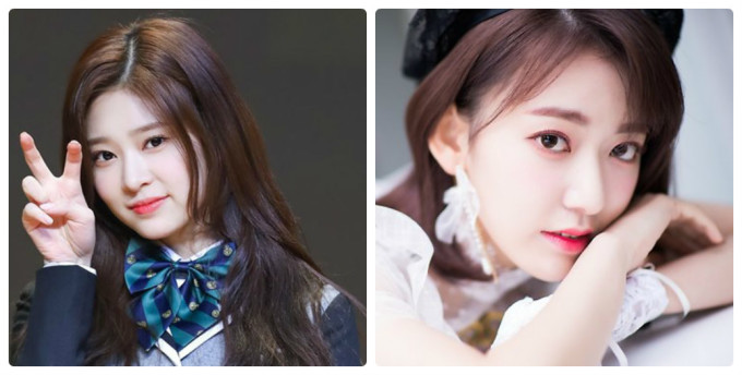 <p> Kim Min Joo (trái) đứng vị trí center khi IZONE quảng bá ở Nhật. Tuy nhiên, Sakura lại là thành viên thường xuyên được khen ngợi nhan sắc ở các diễn đàn Kpop, mức độ nổi tiếng vượt trội ở cả thị trường Hàn, Nhật.</p>