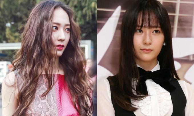 <p> So với việc cắt tóc mái thì Krystal cùng kiểu mái dài, rẽ ngôi giữa thần thái, sắc sảo hơn hẳn.</p>