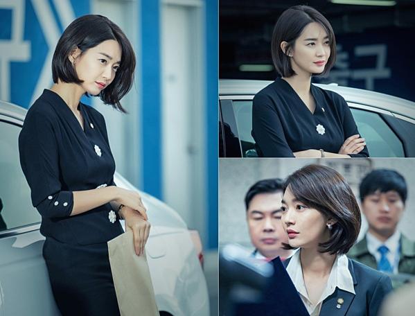 Tạo hình xinh đẹp của Shin Min Ah.