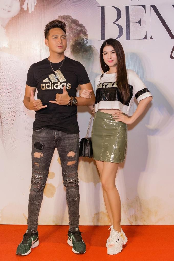 <p> Vợ chồng Kha Ly - Thanh Duy.</p>