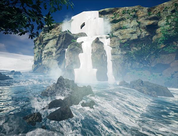 Hình ảnh trong game 3D.