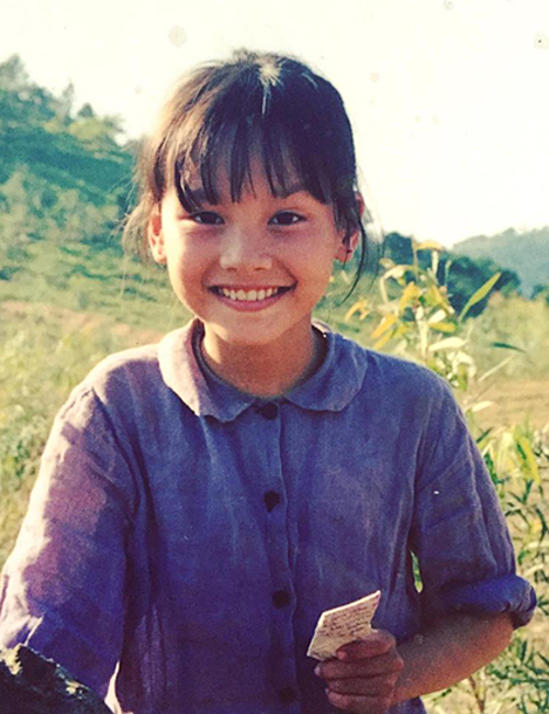 Tám tuổi, Bảo Thanh lọt vào mắt xanh của đạo diễn Phi Tiến Sơn. Cô được giao cho vai bé Nụ trong bộ phim Vào Nam ra Bắc. Vai diễn nhí mang lại cho Bảo Thanh giải Nữ diễn viên phụ xuất sắc tại Liên hoan phim Việt Nam lần thứ 13, năm 2001.