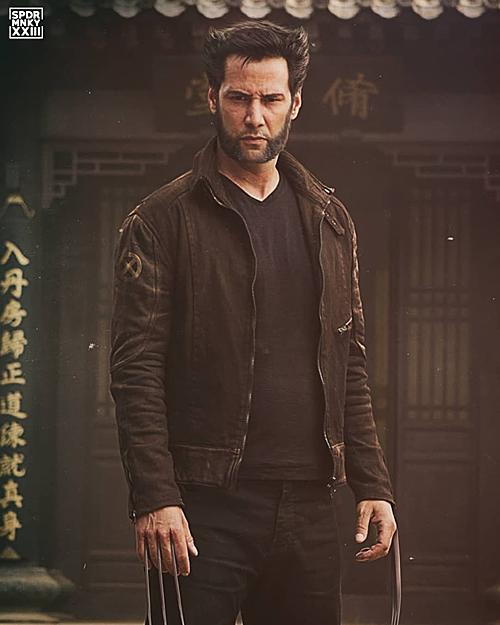 Người hâm mộ thử hóa trang cho Keanu Reeves thành Wolverine.
