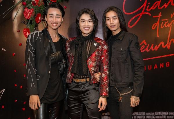 Hải Triều - BB Trần là hai người anh thân thiết của Quang Trung.