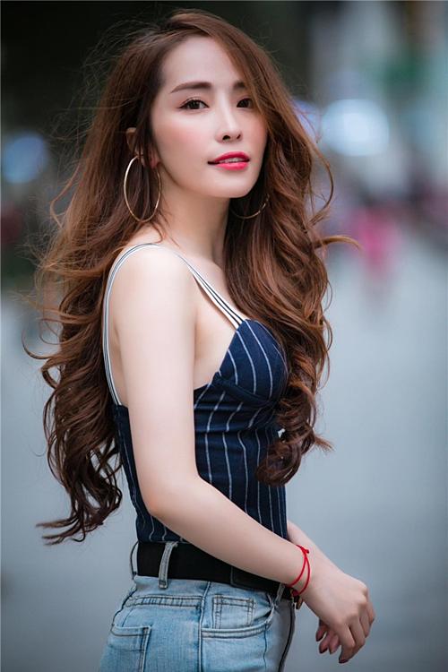 Quỳnh Nga vừa ly hôn chồng hồi cuối tháng 3/2019.
