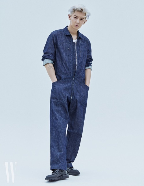 ... và Chan Yeol (EXO) xuất hiện trên W Magazine.