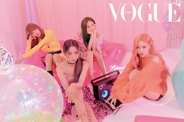 Bộ ảnh quảng cáo của Black Pink trên Vogue Korea số tháng 7 đang thu hút sự quan tâm của cộng đồng Blink.