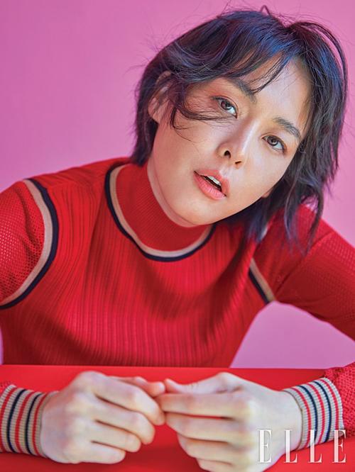 Nữ diễn viên Lee Hana...