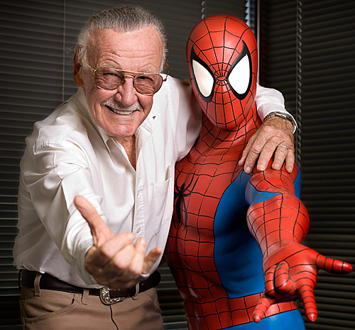 Stan Lee - cha đẻ của các siêu anh hùng Marvel. Ông qua đời vào tháng 11 năm ngoái ở tuổi 95.
