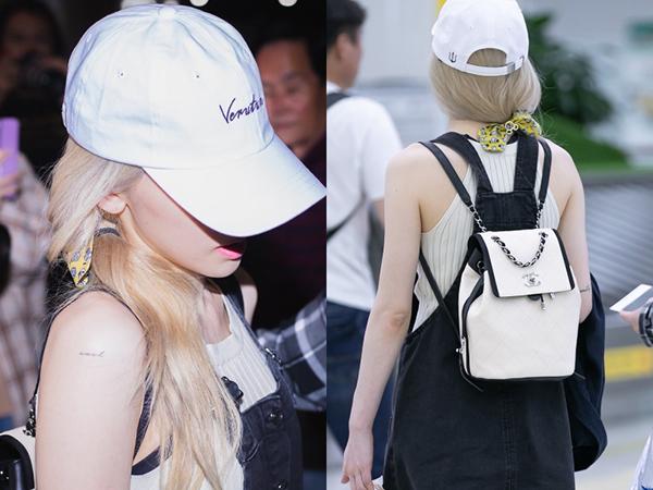 Taeyeon khiến nhiều tín đồ ngất ngây với chiếc balo Chanel màu be giá 88,3 triệu đồng.