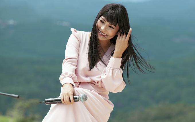 """<p> Phương Thanh chia sẻ: """"Trong cuộc đời, không bao giờ Chanh giận được Lam Trường vì tính của Trường luôn luôn dễ thương"""".</p>"""