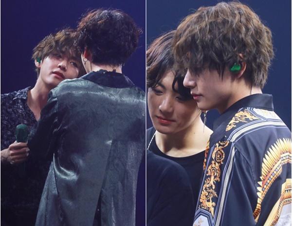 Một số nhận xét: Tôi đã bị nhầm khi xem sân khấu của nhóm, V và Jung Kook để tóc này trông thật sự giống nhau; Cả hai cậu càng lớn càng đẹp trai; Bộ đôi đáng yêu nhất BTS chính là hai cậu này đấy. Vừa tài năng vừa có visual đỉnh, lại thường bám lấy nhau như vậy hỏi sao fan không mê chứ?; Thích nhất V để tóc đen, trông nam tính và trưởng thành lắm...