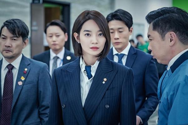 Shin Min Ah sắc sảo trong phim.