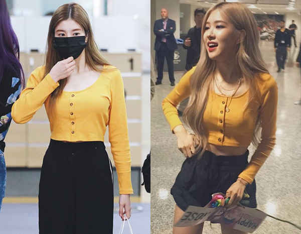 Một thành viên khác của IZONE là Kwon Eunbi cũng vô tình